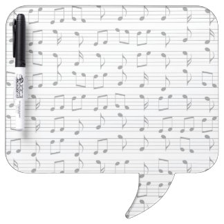 Music Dry Erase Board