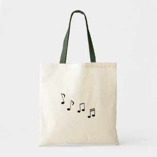 Music Eighth notes or quavers - musical notes Tote Bag