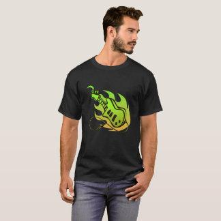 Music electric guitar T-shirt