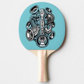 music elephant ping pong paddle