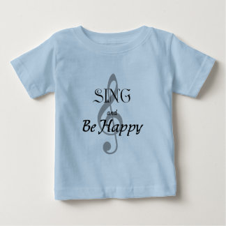 "Music Expressions ""SING and Be Happy"" T-shirts"