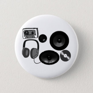 Music Fan gifts! 2 Inch Round Button