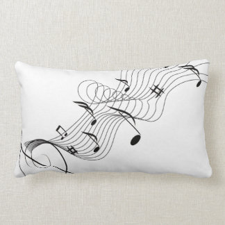 """Music fantasy"" design Lumbar Pillow"