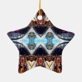 Music Festival Ceramic Star Ornament