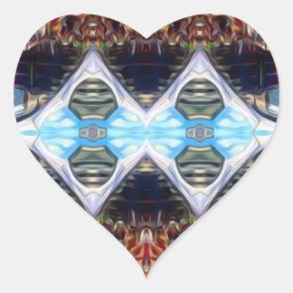 Music Festival Heart Sticker