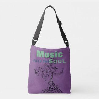 Music Fills The Soul Crossbody Bag