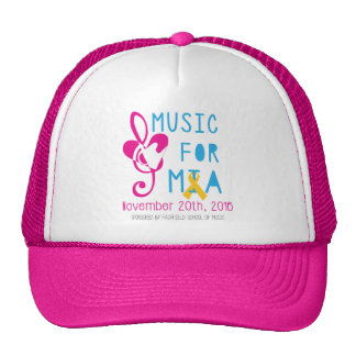 Music for Mia Mesh Hat - Pink
