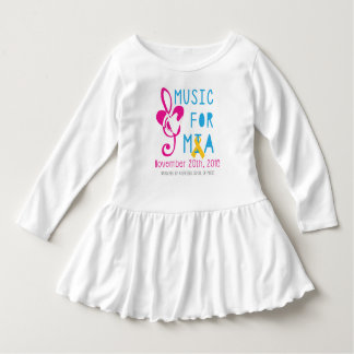 Music for Mia Toddler Ruffle Dress