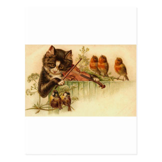 Music For The Birds Postcard
