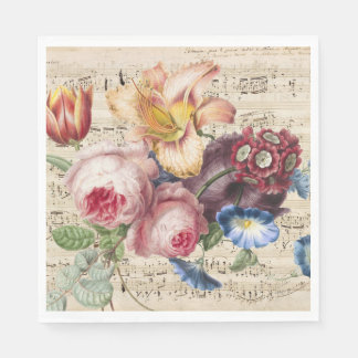 Music for the Soul Paper Napkin