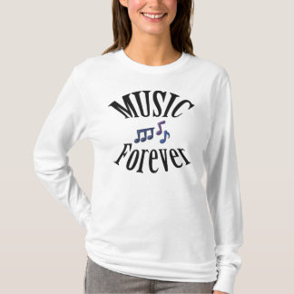 Music Forever Notes Music Shirt