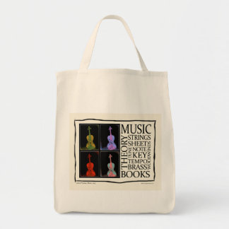 Music from Books Tote Bag