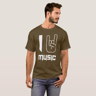 Music fun heavy metal symbol music fan humor T-Shirt