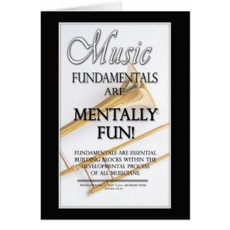 Music Fundamentals Card