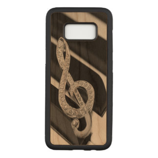 Music Gclef Carved Samsung Galaxy S8 Case