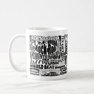 Music Genre Coffee Mug