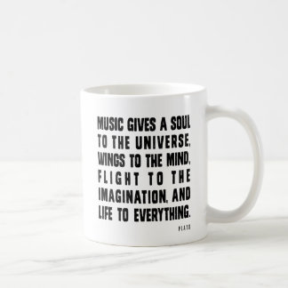 Music Gives A Soul To The Universe Mug