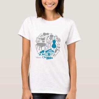 Music Globe - Women T-Shirt