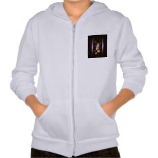 Music, golden microphone pullover