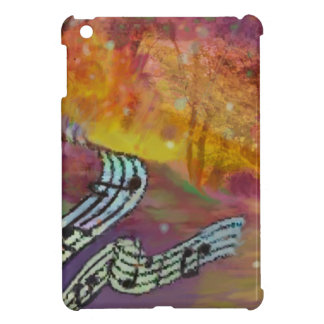 Music have strange connection to nature. iPad mini case