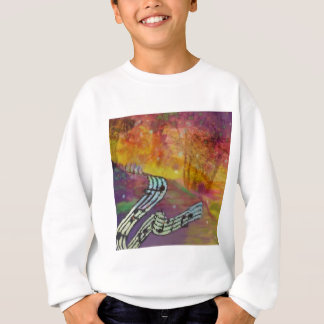 Music have strange connection to nature. sweatshirt