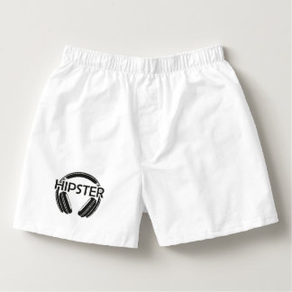 Music Headphones Hipster Boxers