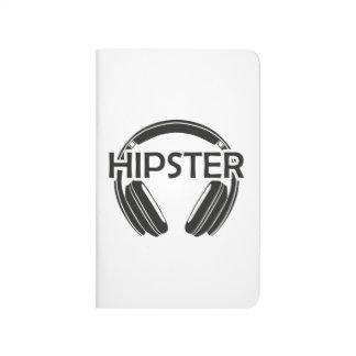 Music Headphones Hipster Journal