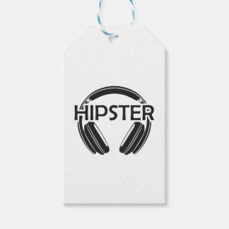 Music Headphones Hipster Pack Of Gift Tags
