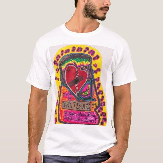 Music Heals the Heart T-Shirt