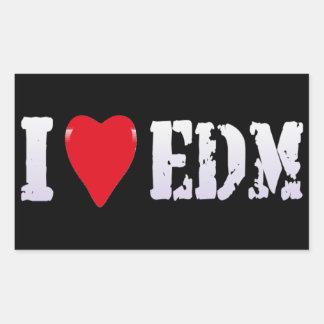 MUSIC - I HEART EDM - STICKER