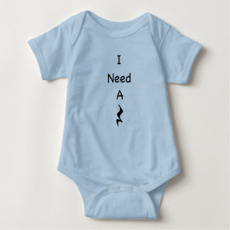 Music I Need A Rest Baby Jersey Bodysuit