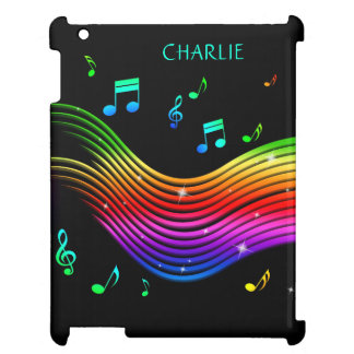 Music Illustration custom name device cases Case For The iPad