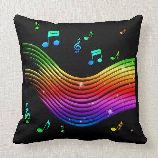 Music Illustration throw pillows