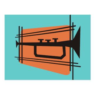 Music in Brass Postcard