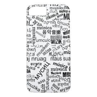 Music in different languages iPhone 7 case