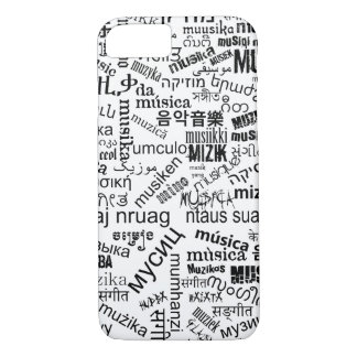 Music in different languages iPhone 8/7 case