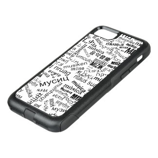 Music in different languages OtterBox commuter iPhone 8/7 case