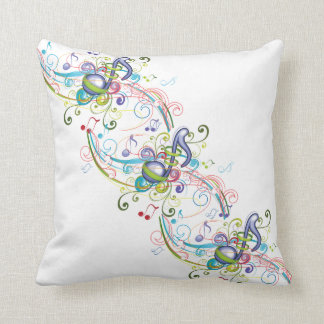 Music in the Air Throw Pillow
