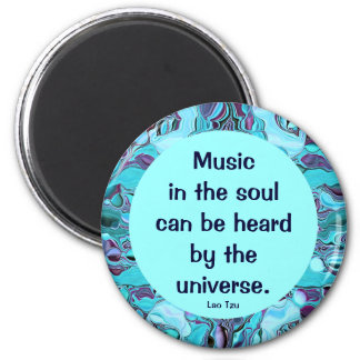 music in the soul 2 inch round magnet