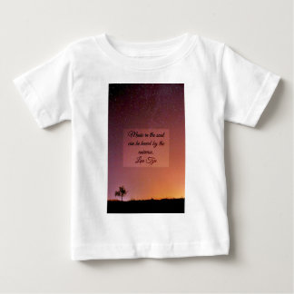 Music in the soul baby T-Shirt
