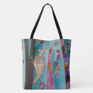 Music in the World - Woodpecker Tote Bag