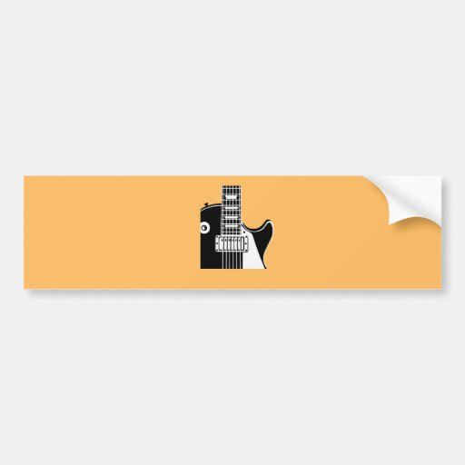 Music instrument guitar - Musicians Bumper Stickers