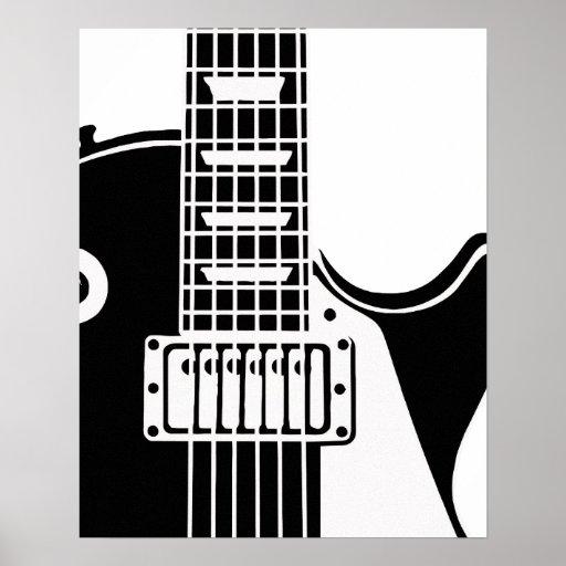 Music instrument guitar - Musicians Poster