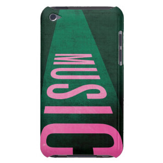 MUSIC iPod Case Barely There iPod Cases