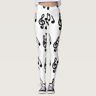 Music is everything leggings