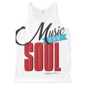 Music is in my Soul Unisex Tank
