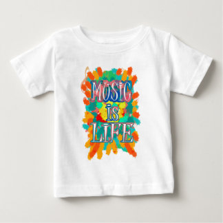 Music is Life Baby T-Shirt