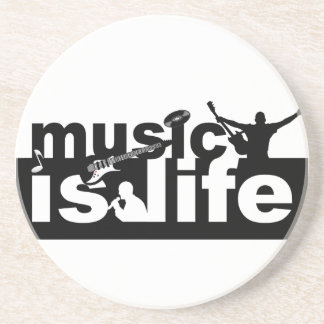 Music is life coaster - customize!