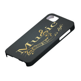 Music is Life iPhone 5 Cases