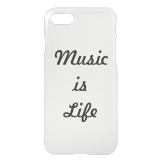 Music is Life iPhone 8/7 Case